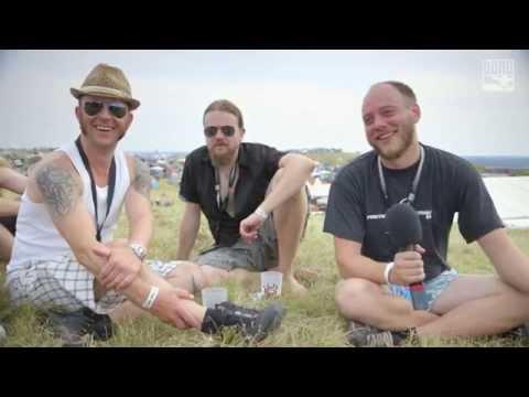 Vulture Industries - Interview @ Dong Open Air 2014