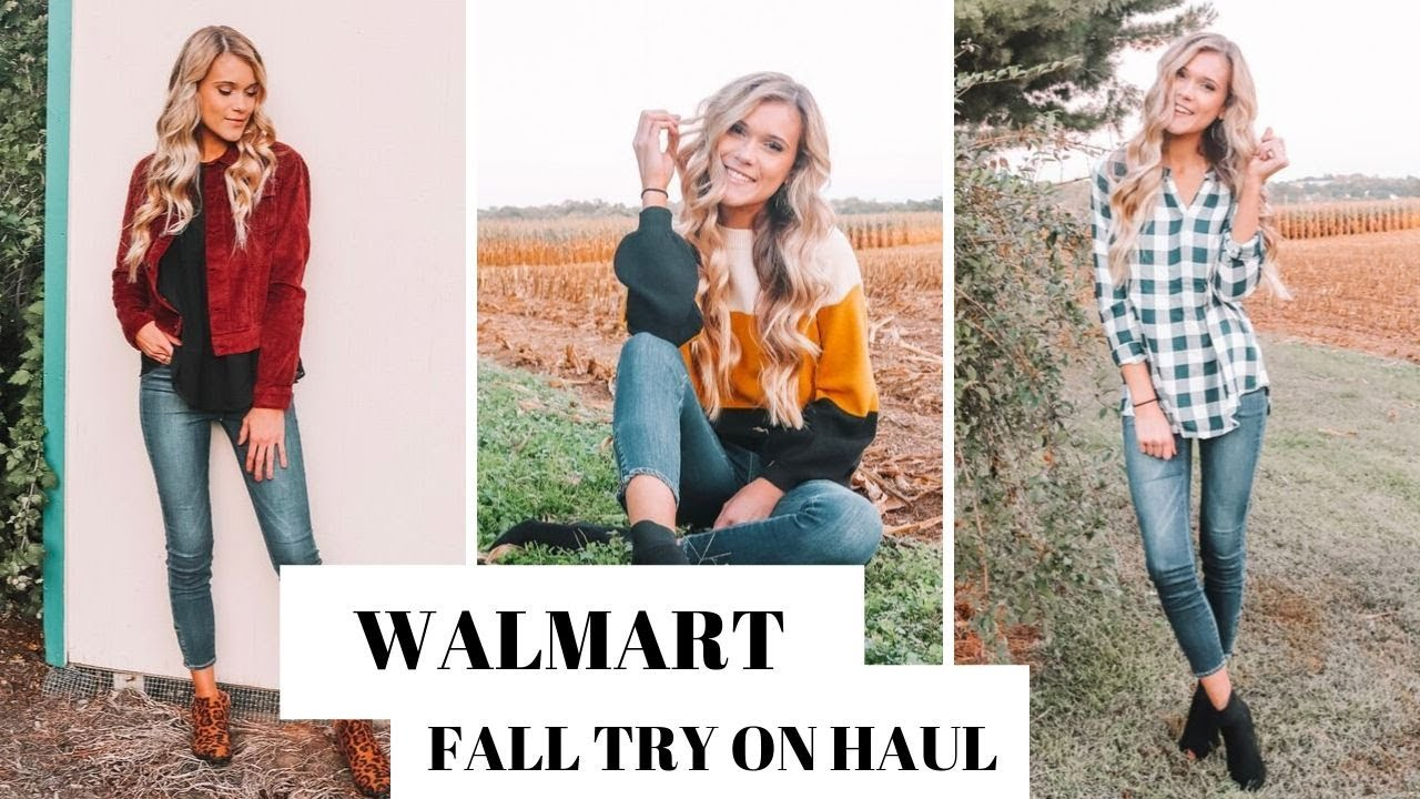 [VIDEO] - Huge Walmart Outfit Ideas for Fall | Try On 2019 2