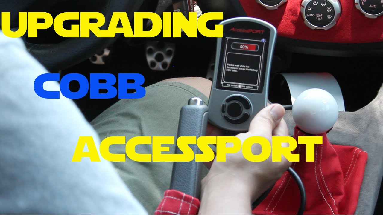 Cobb: Accessport V2 to V3 Upgrade!