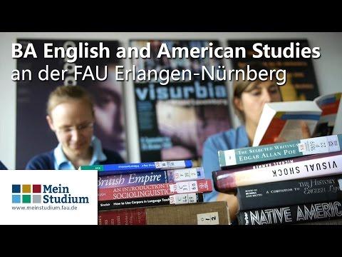BA English and American Studies an der FAU Erlangen-Nürnberg