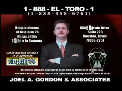 Houston Auto, Motorcycle, and Trucking Injury & Accident Lawyer Joel A. Gordon