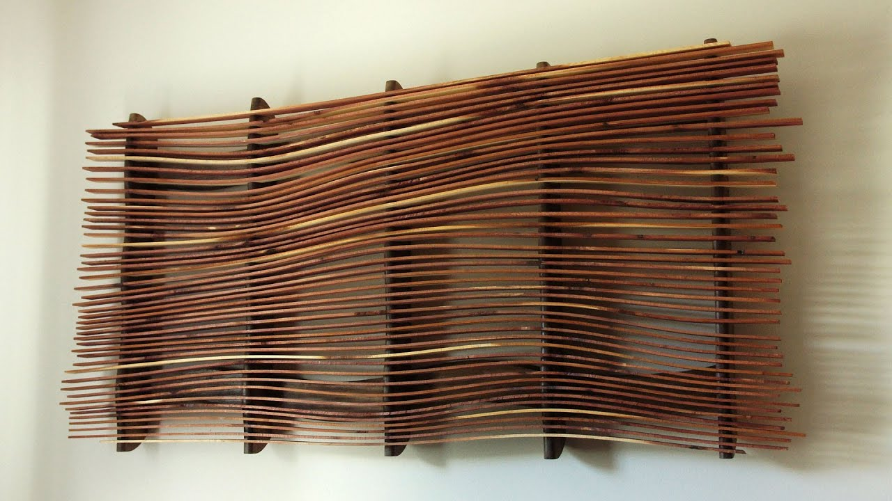 wall art from scrap wood youtube