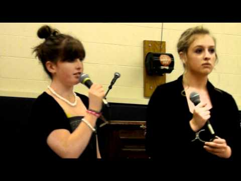 Maddy & Erin - Jar of Hearts - Will James Middle School