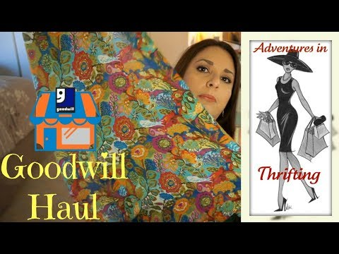 Haul | Goodwill | Ebay Items, Clothes, Purse, Books, and A Fall Decor
