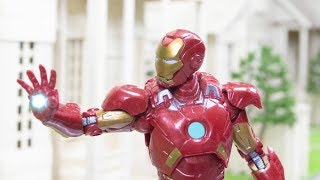 IRONMAN STOP MOTION Action Video Part 2| Great Armor