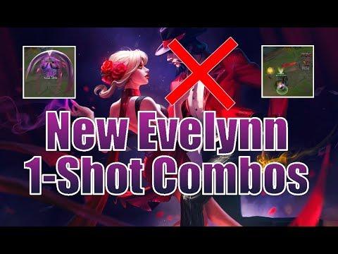 NEW EVELYNN Combos - League of Legends Combos
