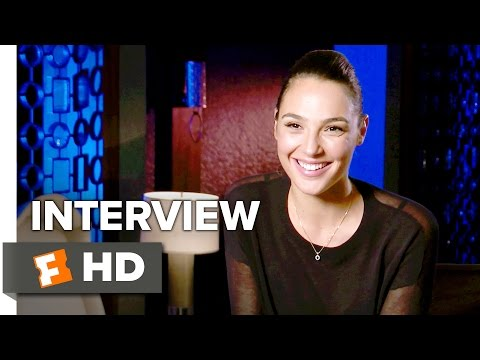 Keeping Up with the Joneses Interview - Gal Gadot (2016) - Comedy