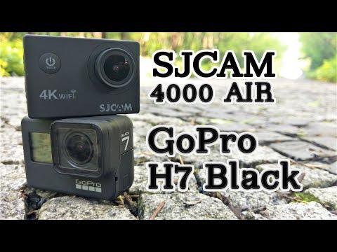SJCAM 4000 Air Vs GoPro Hero 7 Black Comparison