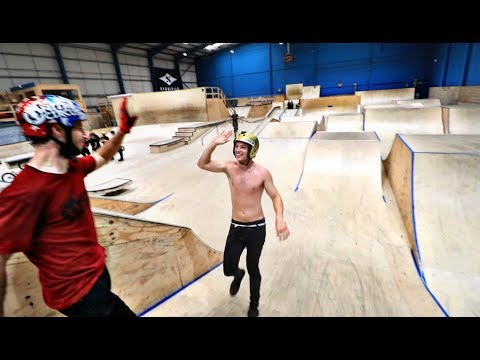 WORLD FIRST AT THE BEST SKATEPARK IN WALES!