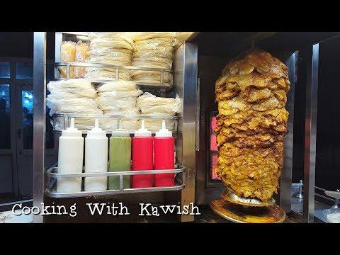 Shawarma Street Food | Hussainabad Food Street Karachi Pakistan