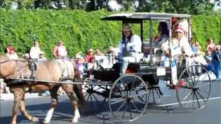 2012 Horse And Mule Drawn Wagons At Pendleton Roundup Parade Part 1 September 14, 2012.wmv