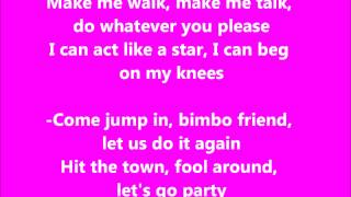 barbie Girl Karaoke / Instrumental Aqua [Official]