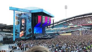 Ed Sheeran - Thinking out loud, Live @Ullevi, Gothenburg, Sweden