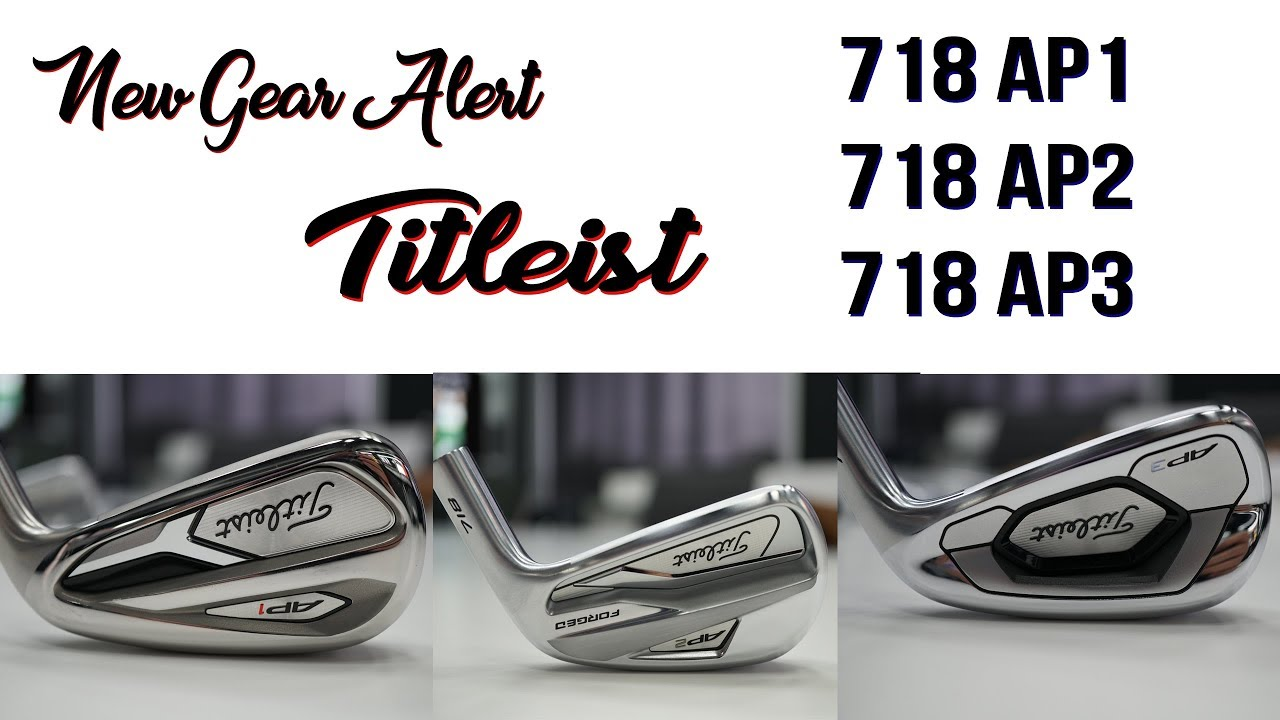 Titleist 718 AP2 and AP3 Black Irons - The Hackers Paradise