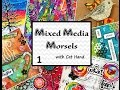 Mixed Media Morsels 1 - Plastic Wrap Background