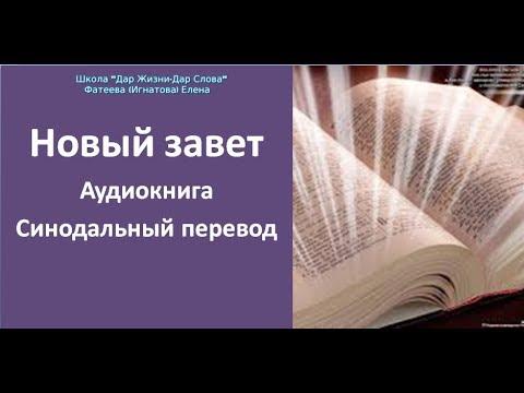 БИБЛИЯ. НОВЫЙ ЗАВЕТ. АУДИОКНИГА. СИНОДАЛЬНЫЙ ПЕРЕВОД