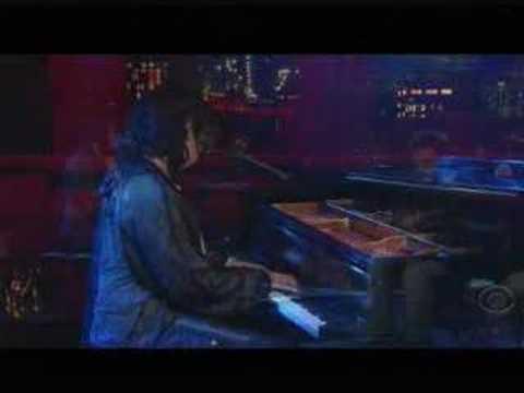 Antony & the Johnsons on Letterman