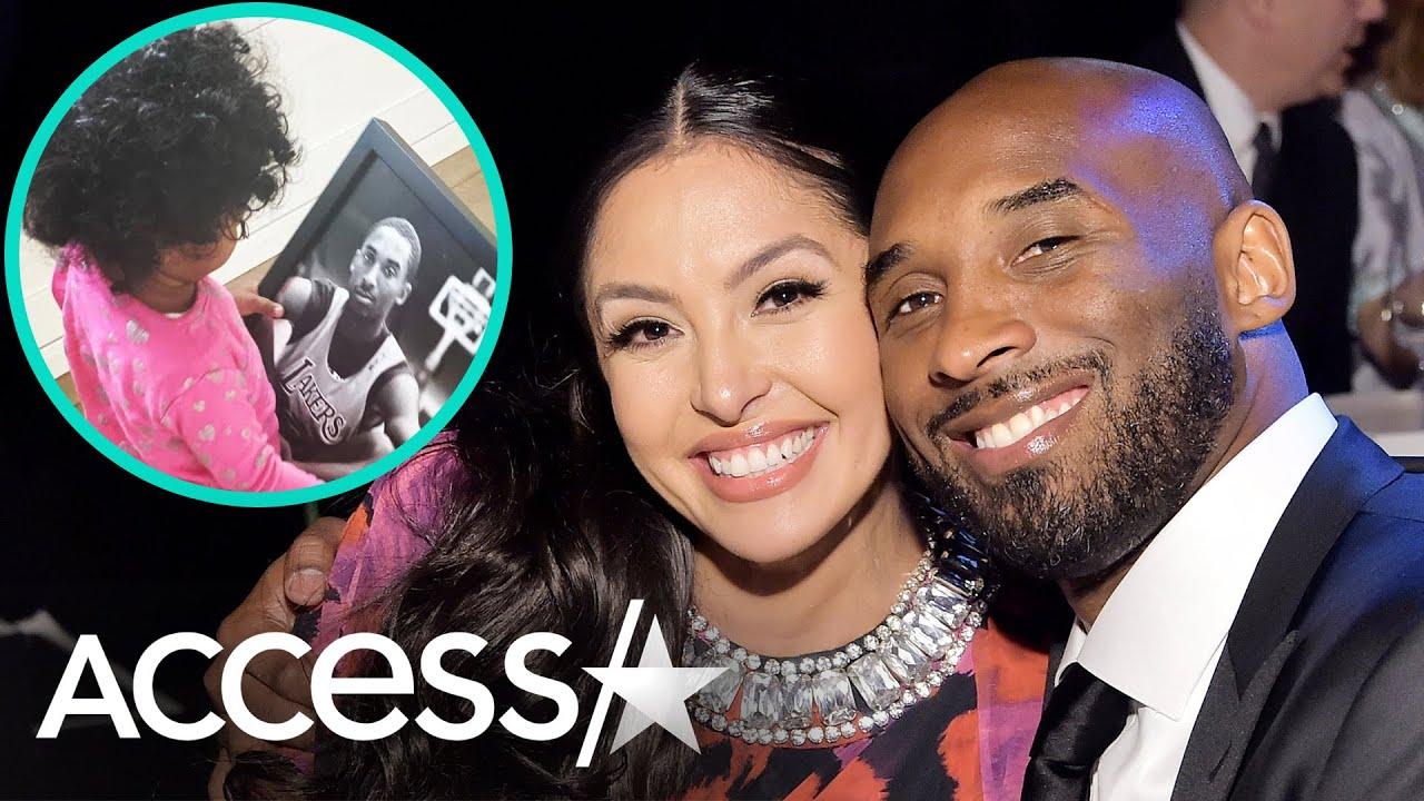 Kobe Bryant's Daughter Capri Calls Him 'Dada'