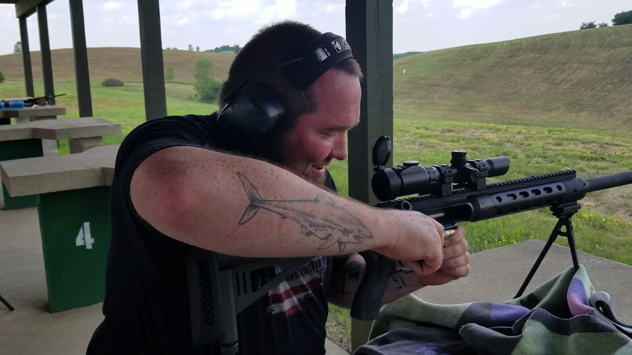 #fun day ( 6 ) money shot with GORILLAS AND GUNS at thunder valley precision with the SHF50 CAL
