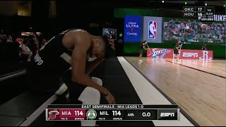 Jimmy Butler Ends Game 2 With Clutch Free Throws   WILD Ending