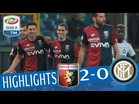Genoa - Inter 2-0 - Highlights - Giornata 25 - Serie A TIM 2017/18