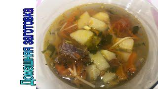 Суп говяжий(простой и вкусный) эпизод №327