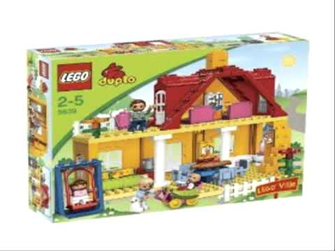 lego duplo 5639 villetta familiare youtube. Black Bedroom Furniture Sets. Home Design Ideas
