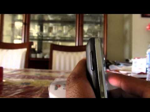 Virgin Mobile Samsung Intercept unboxing
