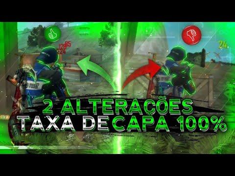 FAÇA 2 ALTERAÇÕES!! AUMENTE EM 100% A TAXA DE CAPA NAS PARTIDAS!! MUITO ROUBADO!! FREE FIRE