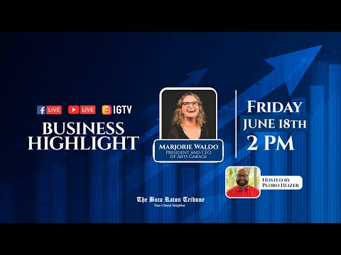 Business Highlight with Marjorie Waldo, June 10th