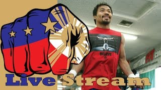 Manny Pacquiao Afternoon Workout Wednesday