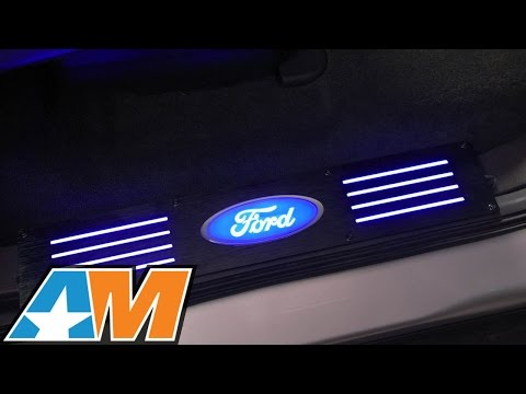 2009-2014 F-150 Recon Billet Ford Oval Door Sill (SuperCrew) Review & Install