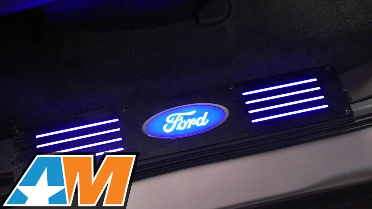 3 Light Wiring Diagram 2009 2014 F 150 Recon Billet Ford Oval Door Sill