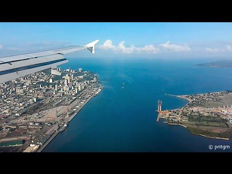 Landing in Maputo (MZ)