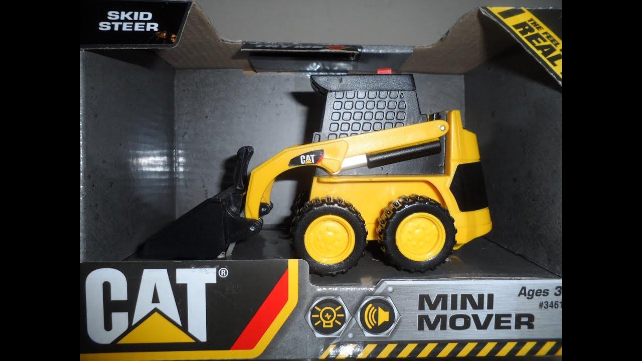 Caterpillar Skid Steer >> SKID STEER BOB CAT CATERPILLAR TOY CONSTRUCTION BULLDOZER ...