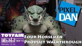 Mythic Legions Four Horsemen Design Product Walkthrough at Toy Fair 2016