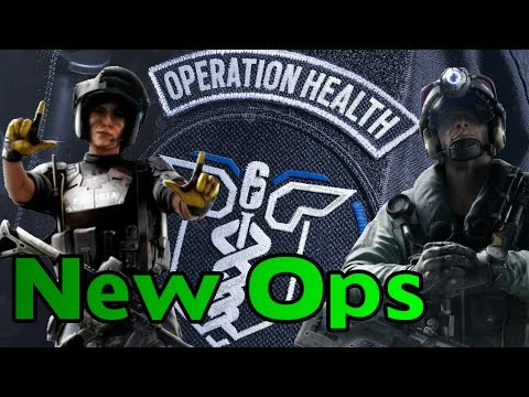 The New Ops are AMAZING - Operation Health - Rainbow Six Siege Gameplay
