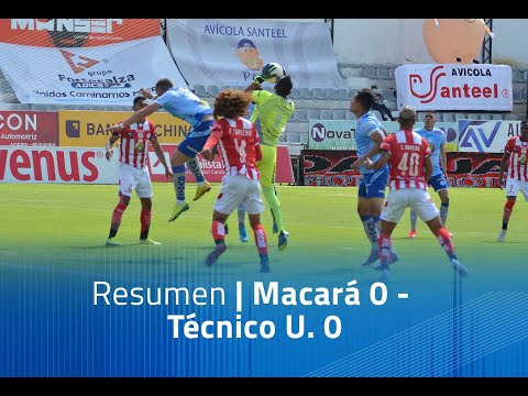 Macara Tecnico U. Goals And Highlights
