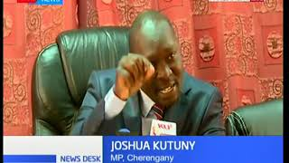 Joshua Kutuny disagrees with his Rift Valley colleagues who disowned Lifestyle Audit