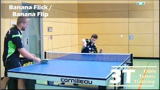 Serve Recieve Part 2: Banana Flick / Rückschlag Teil 2: Banana Flip