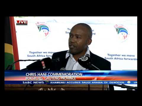 Umkhonto we Sizwe at Chris Hani commemoration ceremony