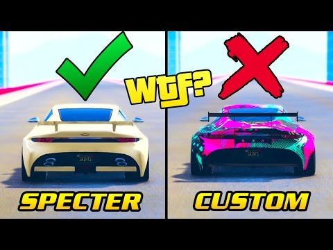 "THEY DID IT AGAIN! *WARNING* KNOW THIS BEFORE BUYING THE ""SPECTER CUSTOM"" IN GTA ONLINE"