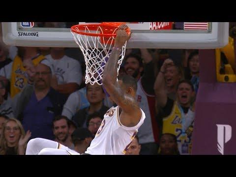 LeBron James Game-Winning Putback Dunk | Hawks vs Lakers | November 11, 2018 | 2018-19 NBA Season thumbnail