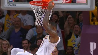 LeBron James Game-Winning Putback Dunk | Hawks vs Lakers | November 11, 2018 | 2018-19 NBA Season