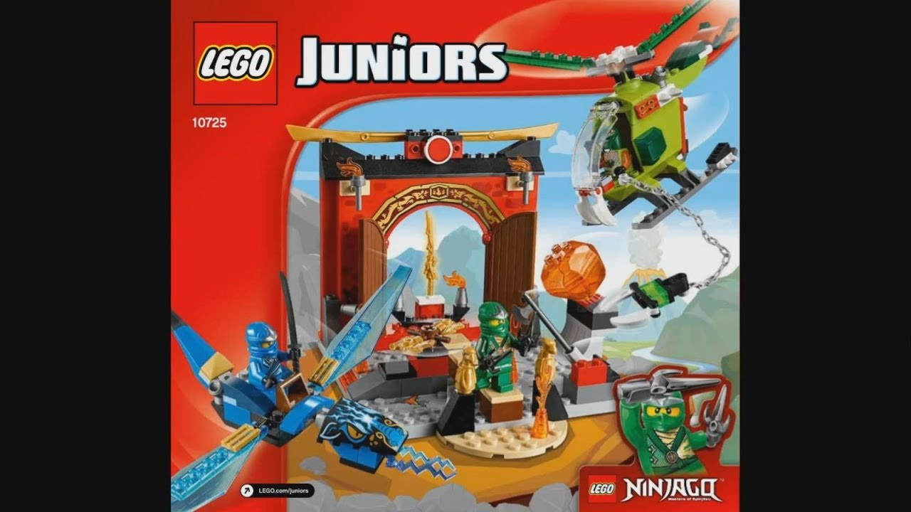 Lego Juniors Ninjago 10725 Lost Temple Instruction Timelapse Youtube