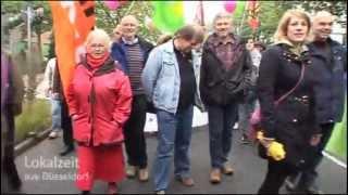 Demonstration gegen Rechts in Mettmann - WDR Lokalzeit vom 05.10.2013