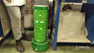 Materiały Budowlane - Ćwiczenie 1 - Oznaczanie składu ziarnowego metodą przesiewania