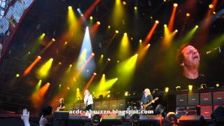 AC/DC ACDC BAPTISM BY FIRE Live at AVIVA Stadium, Dublin, Ireland 1 July  2015