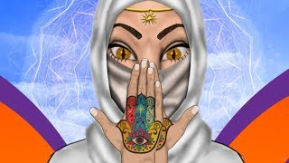Hamsa - The Hand of Fatima, The Hand of Mary, the Hand of the Goddess