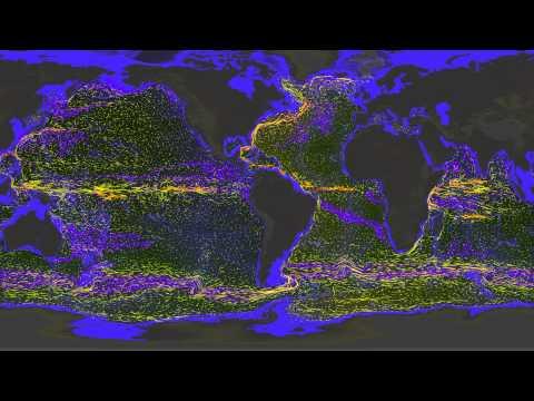 Historical Global Ocean Flow Data Visualized
